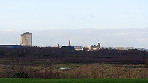 Ravenscraig - Image: Ravenscraig 2012