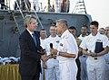 Reception with Ambassador Pyatt Aboard USS ROSS, July 24, 2016 (28299484300).jpg