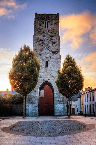 Red Abbey, Cork - Red Abbey Tower