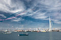 Red Arrows display at Portsmouth in July 2008 4.jpg