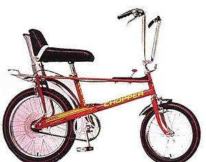 Wheelie bike - The North American Version of The Mk2 Raleigh Chopper