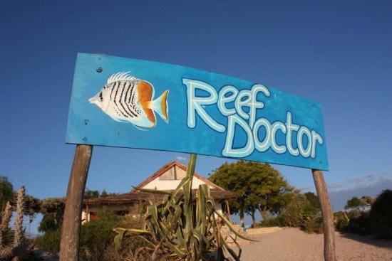 ReefDoctor work station in Ifaty, Madagascar