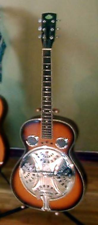 Regal Musical Instrument Company - Regal resonator guitar