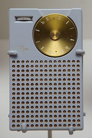Transistor radio - Regency TR-1.
