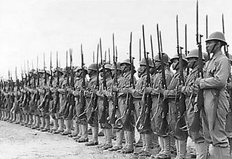 Republic of South Maluku - KNIL regiment, 1943.