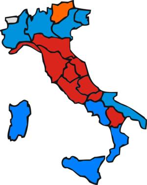 Italian regional elections, 1995 - Image: Regionali 1995