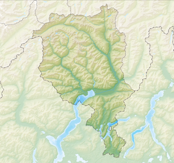 Acquarossa is located in Canton of Ticino