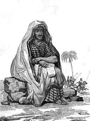 René Caillié - Dressed in Arab clothing