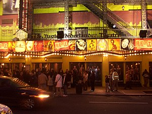 Rent (musical) - Rent at David Nederlander Theatre in Manhattan, New York City