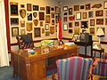 Replica of Jesse Helms Senate office, Wingate, NC IMG 4255.JPG