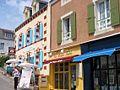 Restaurant Le Petit Baigneur, on Rampe des Glycines, Sauzon, Brittany, France 02.jpg