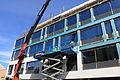Restaurering av gammelt funkis glassbygg i Halden.JPG
