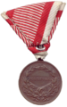 Reverse of the bronze medal for bravery (Austria-Hungary).png