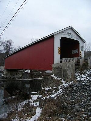 Rexleigh Bridge - Rexleigh Covered Bridge, December 2010