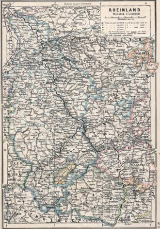 Rhine Province - Rhine Province, 1905