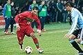 Ricardo Quaresma (L), Marcos Rojo (R) – Portugal vs. Argentina, 9th February 2011 (1).jpg