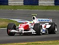 Ricardo Zonta - Toyota TF104 during practice for the 2004 British Grand Prix (50830714688).jpg