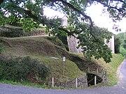 ruines de la tour du premier château
