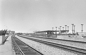 Richmond station (California) - The BART station in 1976
