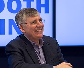 Rick Riordan - Riordan at BookExpo America in 2018