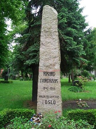 Rikard Nordraak - Rikard Nordraak's first grave in Berlin