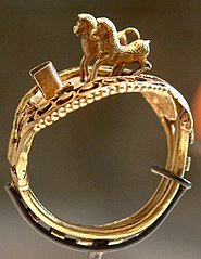Ring with horses