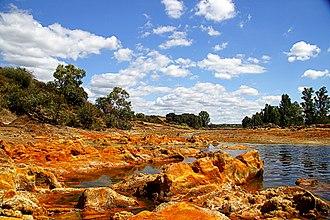 Rio Tinto (river) - Rio Tinto river