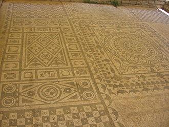 Risan - Roman mosaics in Risan