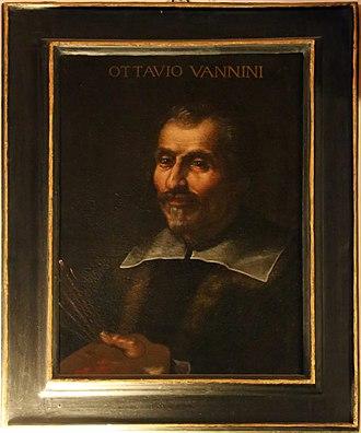 Ottavio Vannini - Image: Ritratti dei membri illustri dell'accademia del disegno, 05 ottavio vannini