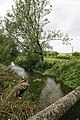 River Bourne downstream of the road bridge in Ford village - geograph.org.uk - 189899.jpg