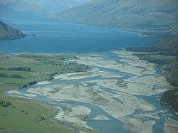 River Makarora flows into Lake Wanaka.jpg