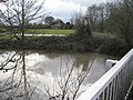 River Mole, west fof Horley from the Lee Street Bridge - geograph.org.uk - 1599323.jpg