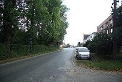 Road II 130 in Leština u Světlé, Havlíčkův Brod District.jpg