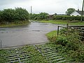 Road junction from the entrance to Willoxton Farm - geograph.org.uk - 226445.jpg