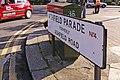 Road sign, Ashfield Parade, London N14 - geograph.org.uk - 1002007.jpg