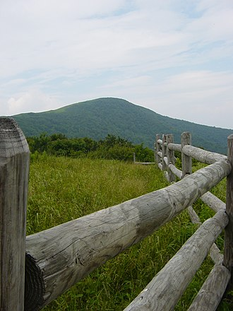 Overmountain Victory National Historic Trail - Roan Mountain, the trail's highest point.