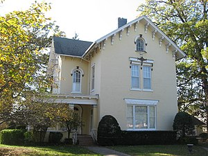 National Register of Historic Places listings in Clark County, Illinois - Image: Robert L. Dulaney House