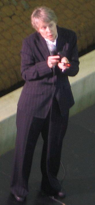 Roberta Bondar - Bondar giving a 2007 presentation on environmentalism