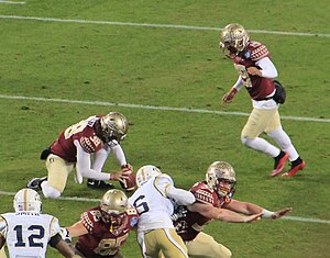 Roberto Aguayo - Aguayo kicking against Georgia Tech