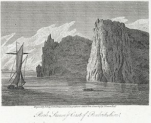 Rock scenery coast of Pembrokeshire St. Govan's