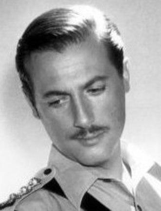 Lloyd Bochner - Bochner as Chief Inspector Neil Campbell in Hong Kong (1961)