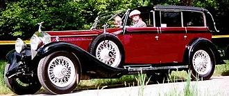 Rolls-Royce Phantom II - Rolls-Royce Phantom II Sedanca Cabriolet 1929