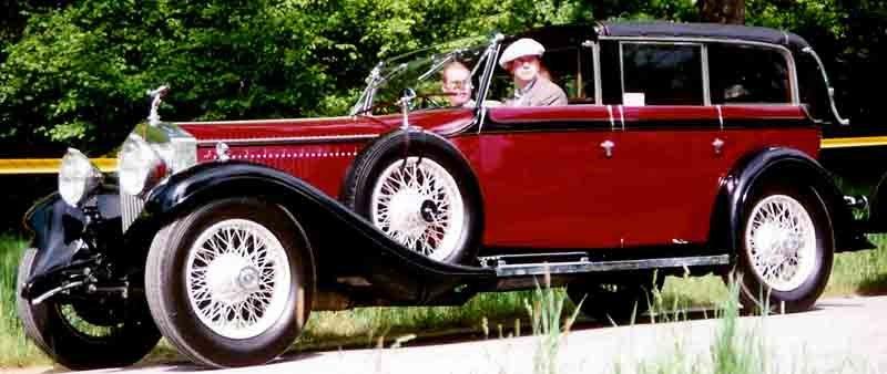 Rolls-Royce Phantom II Sedanca Cabriolet 1929