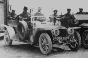 Rolls-Royce Silver Ghost - AX201 at Cat and Fiddle Hill during the Scottish Reliability Trial 1907
