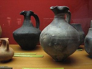 Flagon - Ancient Roman earthenware flagons