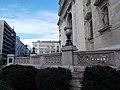 Romantic corner house and St. Stephen's Basilica, 2016 Budapest.jpg
