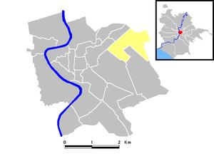 Castro Pretorio - Location.