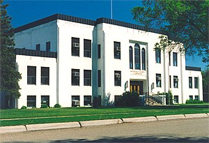 Roosevelt County, Montana - Roosevelt County Courthouse, Wolf Point, MT