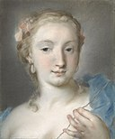 Rosalba Giovanna Carriera - Die Parze Lachesis - 14444 - Bavarian State Painting Collections.jpg