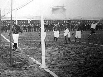 Central Uruguay Railway Cricket Club - The Tie Cup final v. Rosario A.C. in 1904